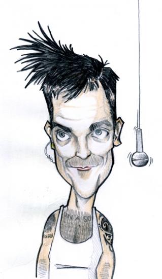 Robbie Williams por guillaume